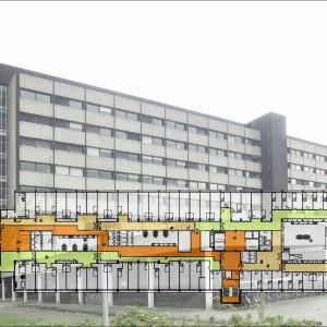 460 eenheden in voormalig ACTA-gebouw Amsterdam