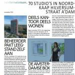 70 studio's Hilversumstraat Amsterdam - Amsterdamse Box