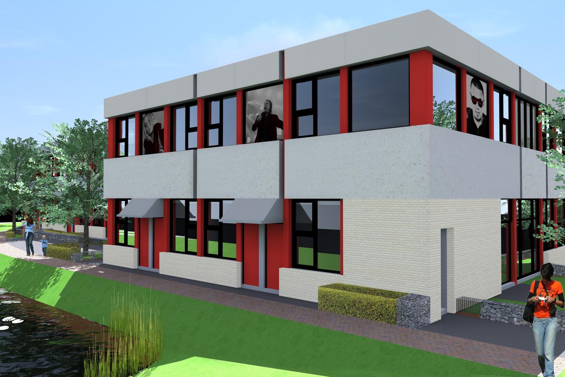 Nieuwegein, Brinkwal, 25 twee-kamerwoningen