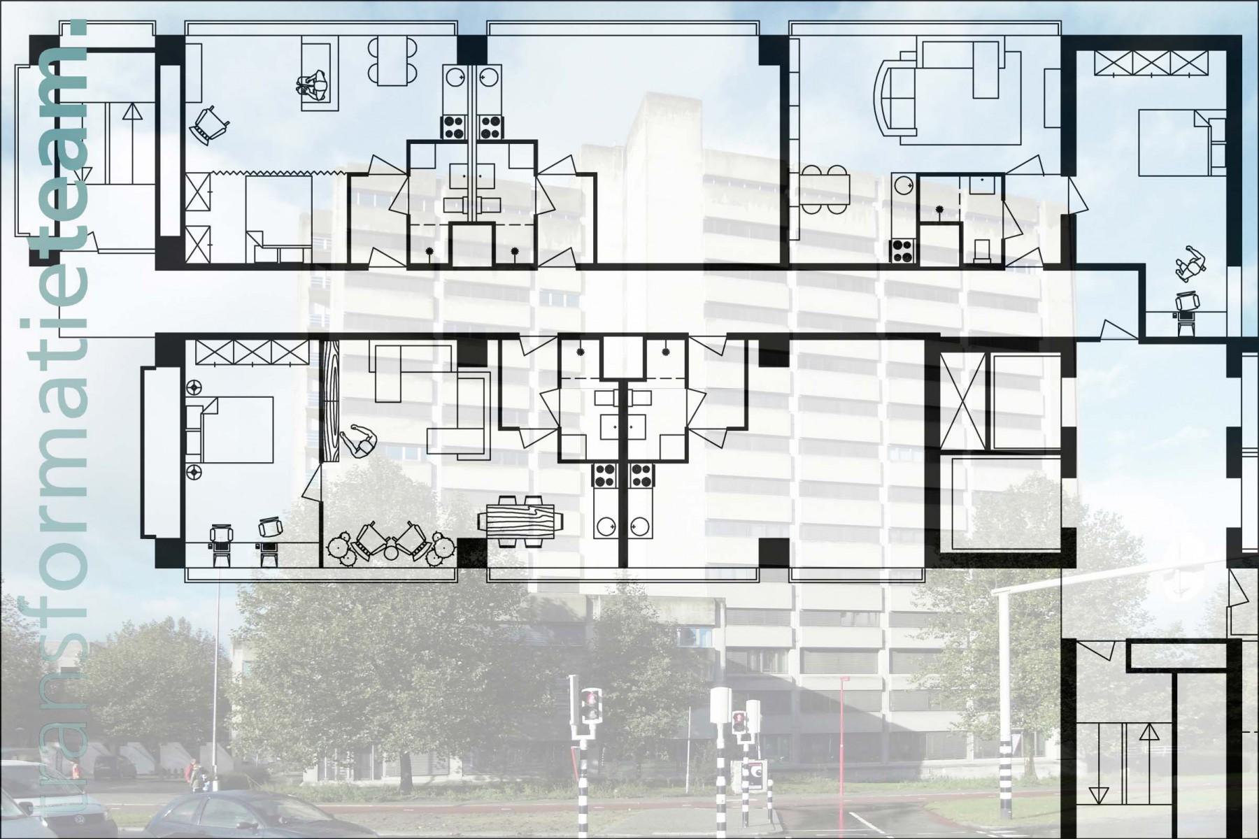 Utrecht, Gerbrandystraat, 244 studio's, restaurant en vergaderruimtes